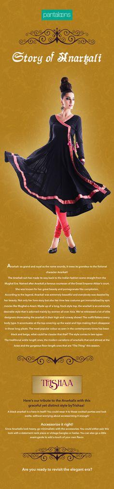 Story of Anarkali - Pantaloons Fashion