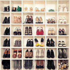shoe storage cubicles