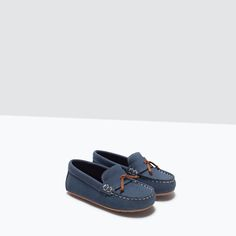LEATHER MOCCASIN-Shoes-Baby boy | 3 months - 3 years-KIDS-SALE | ZARA United States