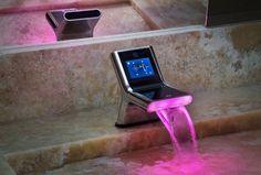modish design futuristic bathroom faucet - OnArchitectureSite.Com
