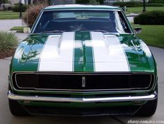 Chevy Camaro First Generation Pictures. Chevrolet Camaro, 1968 Camaro, Camaro Car, Carros Camaro, My Dream Car, Dream Cars, Generation Pictures, Chevy Muscle Cars, Racing Stripes