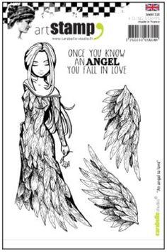Limited, Carabelle Studio, 105x148 mm, stempels, een engel om lief