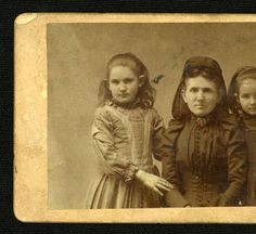 Annie Coleman Peyton And Children :: Mississippi University for Women Archive