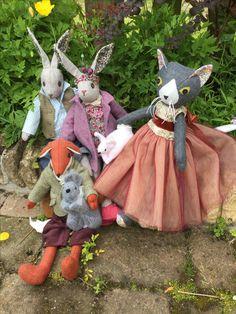 Judy Wickman's family #coolcrafting #lunasbirthdaycompetition #lovelunalapin #lovealfierabbit #bunnysbestfriend