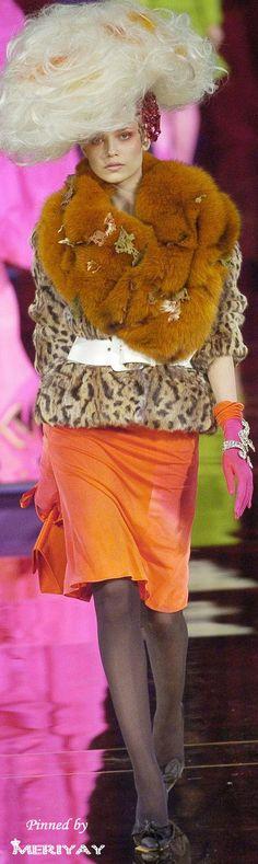 Christian Lacroix, Autumn/Winter 2004, Couture