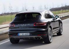 2016 Porsche Macan rear