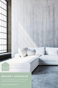 Gelukkig past een hoekbank in vrijwel ieder interieur en dat is meteen al één van de vele voordelen van hoekbanken. Maar er zijn nog meer voordelen, die we graag voor je op een rijtje zetten: Voordelen Van, Couch, Furniture, Home Decor, Settee, Decoration Home, Sofa, Room Decor, Home Furnishings