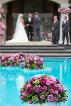 1000 images about pool decorations on pinterest pool Floating candles swimming pool wedding