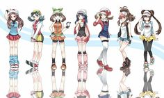pokemon girls!