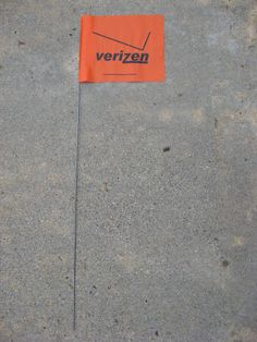 """Verizen"" flag cache - Just found one of these last weekend."