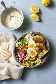 falafel-4779 Falafel, Avocado Toast, Healthy Recipes, Healthy Food, Breakfast, Ethnic Recipes, Cilantro, Healthy Foods, Morning Coffee