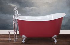 Traditional roll top baths made from copper, cast iron and brass, complemented with our range of bathroom accessories. Cast Iron Bath, Copper Bath, Roll Top Bath, Steel Wool, Wire Brushes, Bathroom Accessories, It Cast, Bathtub, Traditional