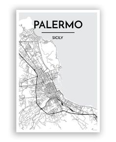 Palermo City Map