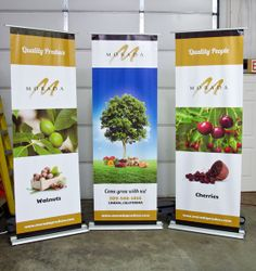 Trade Show Banners #design #invisibleink