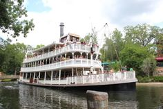 Disney Magic Kingdom Riverboat - ask cast member if you can drive the boat... ;)