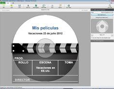 Capturas de pantalla de Disketch, software para etiquetar CD