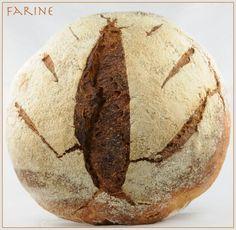 Farine: Barley Bread Barley Sugar, Barley Flour, Barley Bread Recipe, How To Make Bread, Food To Make, Unbleached Flour, Types Of Bread, Bread Board, Plain Greek Yogurt