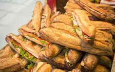 Local flavor: Simple sandwiches. Parisians know they have impeccable taste and they celebrate rich flavors derived from simple ingredients. Jambon beurre (ham and butter) baguette sandwiches are a beloved everyday staple.