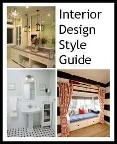 Your guide to the difference between contemporary, transitional, traditional, and other interior design styles.