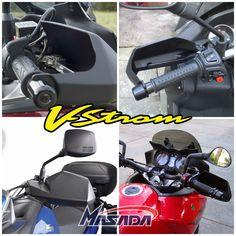Protetor de mão Suzuki #DL650 #V-Strom http://www.masada.com.br/protetor-de-mao-par-suzuki-dl650-v-strom-2007-ate-2016-start-racing-p14572/