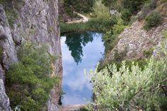 El Charco Azul desde los Calderones. Chulilla 13/0713