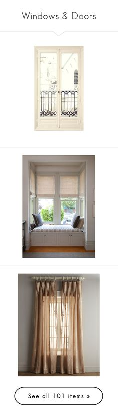 """""""Windows & Doors"""" by sally-simpson ❤ liked on Polyvore featuring windows, doors, backgrounds, effect, filler, home, home decor, window treatments, window blinds and rooms"""