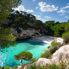 Cala Macarella, Santa Galdana, Balearic Islands, Spain