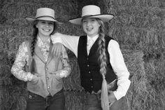 Reata Brannman and Nevada Watt, daughters of horseman Buck Brannaman and silversmith Jeremiah Watt.