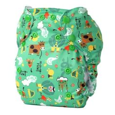 Jack and the Beanstalk - TotsBots cloth nappy diaper