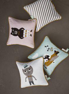 Ferm Living kids cushione