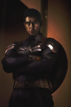 This is what we would have had if Jensen had been Captain America. ;)