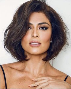 Juliana Paes muda o visual