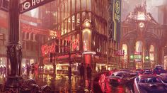 Painting the town Red by *PeteAmachree on deviantART