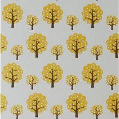dotty carta da parati marrone, giallo e bianco - ferm LIVING | trend-HOUSE