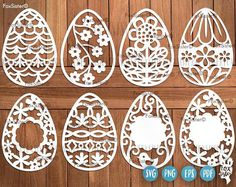 easter eggs svg set 4 template easter egg easter cut file bunny svg easter bunny cut file egg hunt svg food cricut home decor delivers online tools that help you to stay in control of your personal information and protect your online privacy. Design Set, Cricut, Silhouette Designer Edition, Easter Bunny, Easter Eggs, Easter Egg Designs, Stencil Material, Decorate Notebook, Egg Hunt