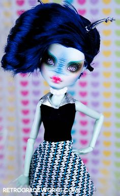 Commission for Erica - Alien Frankie Mod   Flickr - Photo Sharing!