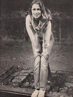 Lauren Hutton  Elle France - March 10 1975  Photographed by Peter Hujar