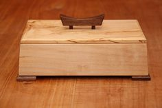 Wooden Jewellery Box - Hidden Hinge