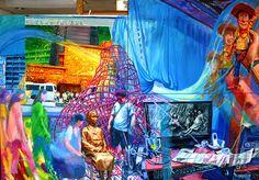 소녀와 카우보이 acrylic on canvas 225X 145/2013
