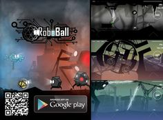 RoboBall promo banner Energy Level, Screen Shot, Android Apps, Google Play, Game Art, Banner, Movie Posters, Banner Stands, Film Poster