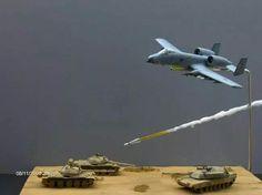 A-10 Warthog Diorama