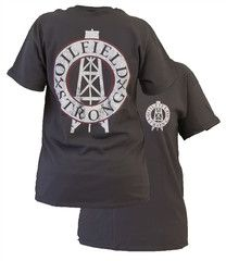 Southern Couture Oilfield Strong Oil Field Logo Unisex Bright T Shirt | SimplyCuteTees