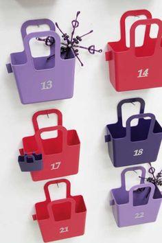 """24 BAGS """"Taschelini"""" Adventskalender von Koziol"""