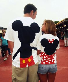 Mickey Minnie t shirt, love it! We need these shirts for Disneyland or Mickey Minnie parties to attend too!