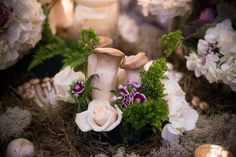 Reception Decor : desiree & seth :Tablescape & Florals by Distracted by Decor : Los Poblanos : New Mexico Wedding Venue :