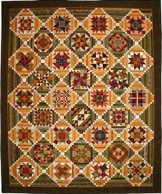Golden Memories From my heart to your hands: Quilt Designs by Lori Smith