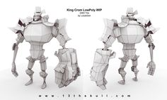 King Crom WIP finwireframe by Beezul on deviantART