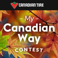 Share your Canadian Way daily for the chance to win a $5,000 shopping spree and other great prizes!