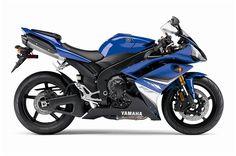 Yamaha R1 blue 2008