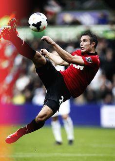 Robin van Persie opening goal for 2013/14 season against Swansea City